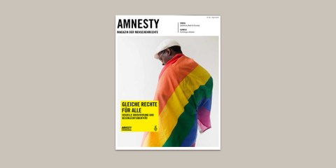 «Gleiche Rechte für alle. Sexuelle Orientierung und Geschlechtsidentität.»