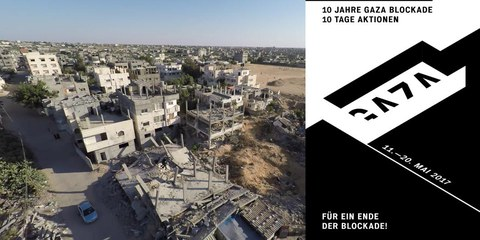 Luftbilder von al-Tannur, Rafah, Gaza © Media Town/Amnesty International