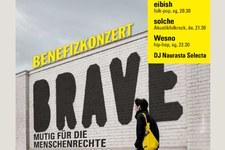 Benefizkonzert Brave - mutig für die Menschenrechte