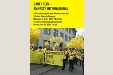Dabei sein - Amnesty International Informationsabend