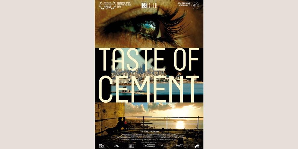 Taste of cement