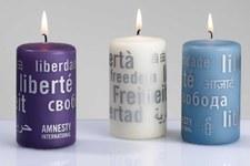 «Kerzen der Freiheit» am Weihnachtsmarkt