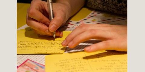 Schreibwerkstatt Briefmarathon