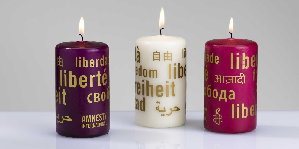 «Kerzen der Freiheit» © Alain Bucher
