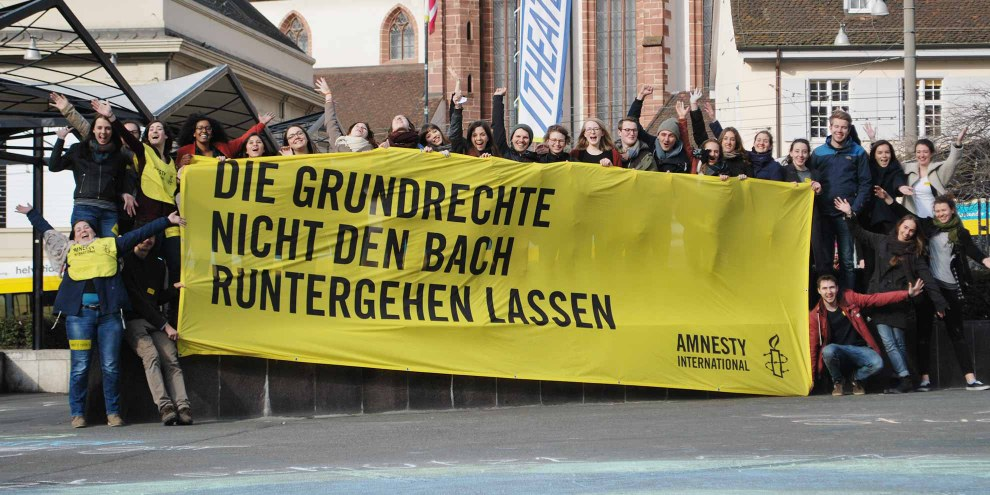 Suisse Students' Conference 2017 in Basel © Amnesty International -