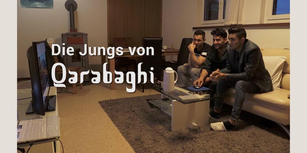 Die Jungs von Qarabaghi