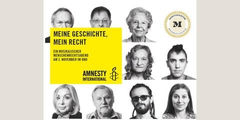 Meine Geschichte - mein Recht: ein musikalischer Menschenrechtsabend