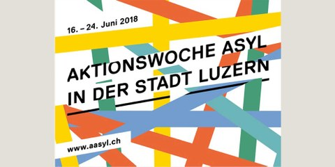Standaktion an der Aktionswoche Asyl