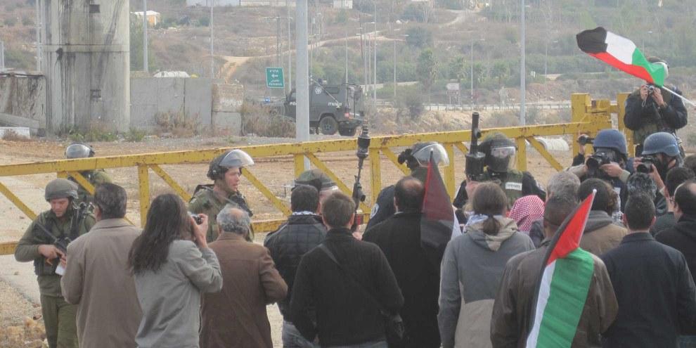 Proteste gegen die Besatzung beim Dorf Nabi Saleh ©Amnesty International
