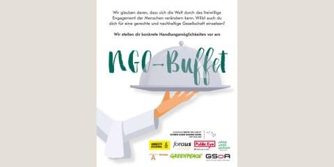 NGO-Buffet: Finden Sie Ihr freiwilliges Engagement!