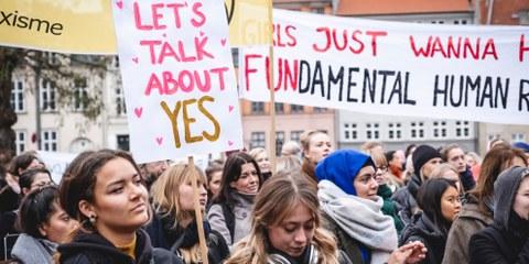 Netzwerktreffen Frauenrechte: Let's talk about Yes!