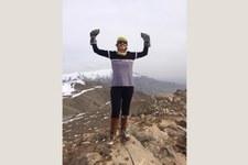 Iranische Frauenrechtsaktivistin ist auch eine passionierte Bergsteigerin © Private
