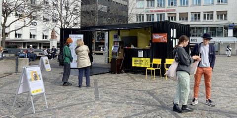 Container-Projekt: Aktionen zum Flüchtlingstag