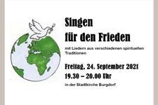 «Singen für den Frieden»
