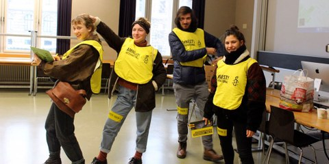 AMNESTY YOUTH-Treffen
