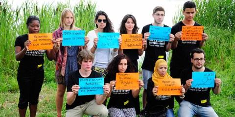 «International Human Rights Action Camp» in Bulgarien 2014 © Fırat Doğan