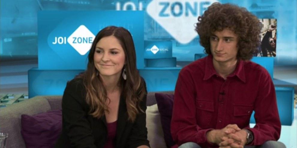 Nathalie und David in der JoiZONE © JOIZ