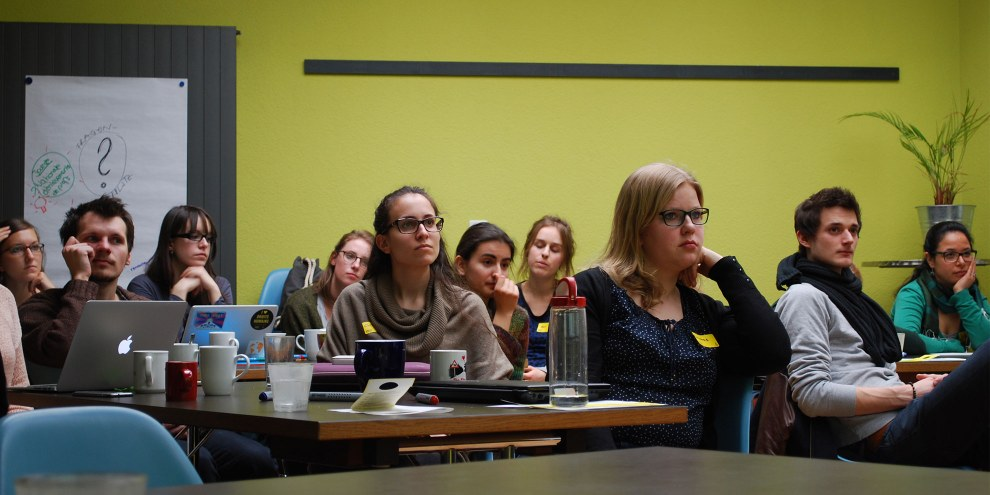Unimeeting in Bern 2015 © Amnesty International