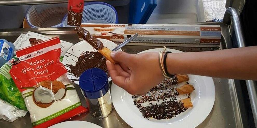 Weitere Bilder vom Kochexperiment durch Klick aufs Bild. © ZVG