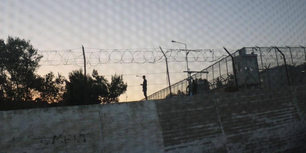 Moria Camp auf Lesbos © Estelle Borel