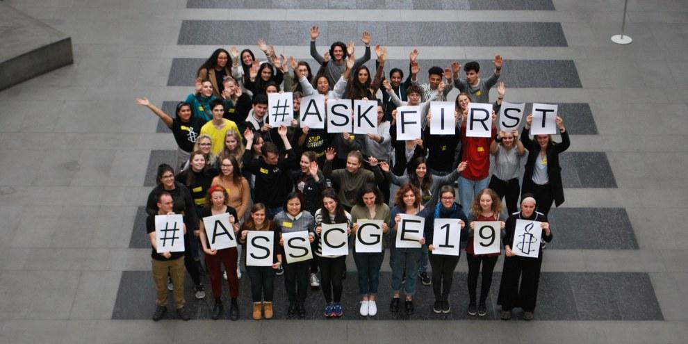 Amnesty Switzerland Students' Conference 2019, Genf © Amnesty International