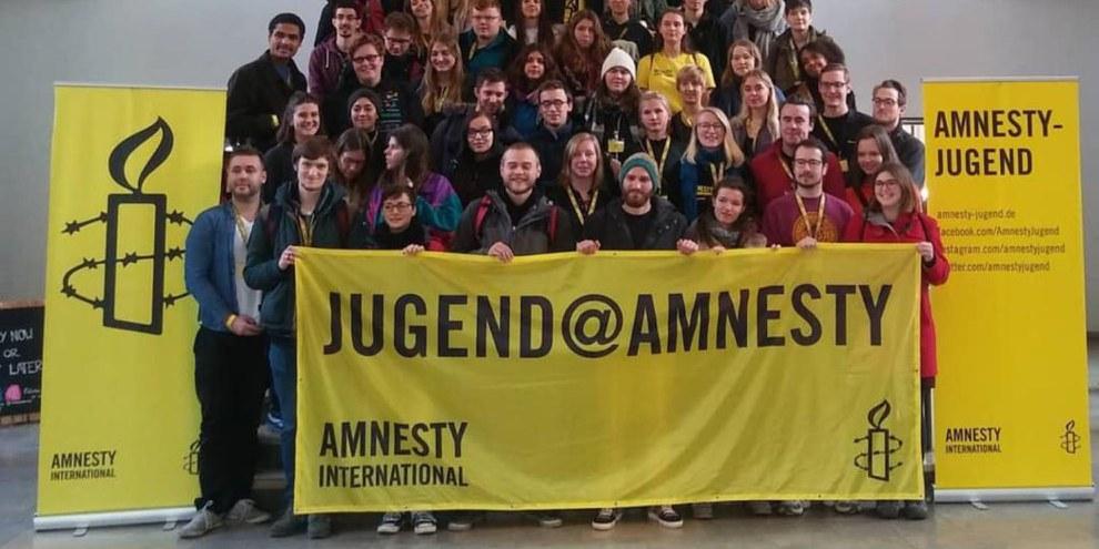 Jugend@Amnesty 2019 in Mannheim ©Denise Brechbühl