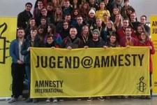 Jugend@Amnesty 2019: «In Gesellschaft und Atmosphäre: Das Klima wandelt sich»