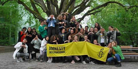 Youthmeeting 2018 © Amnesty International