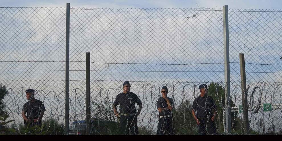 Frontière entre la Hongrie et la Serbie © Amnesty International