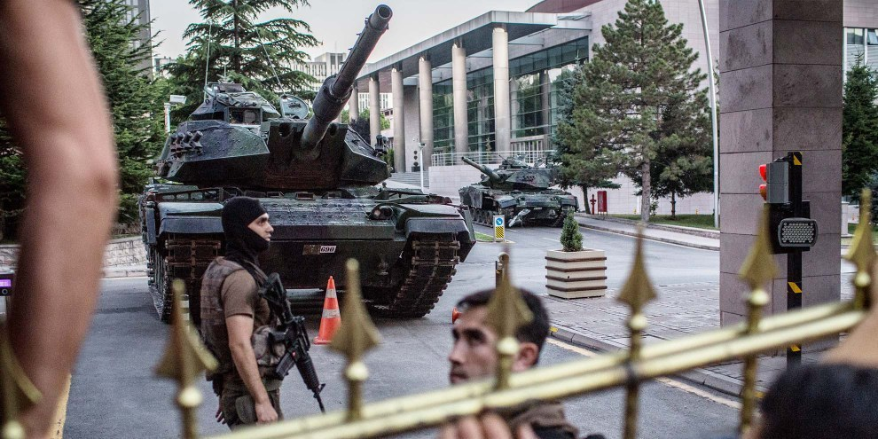 Ankara, 16 juillet 2016. © Chris McGrath/Getty