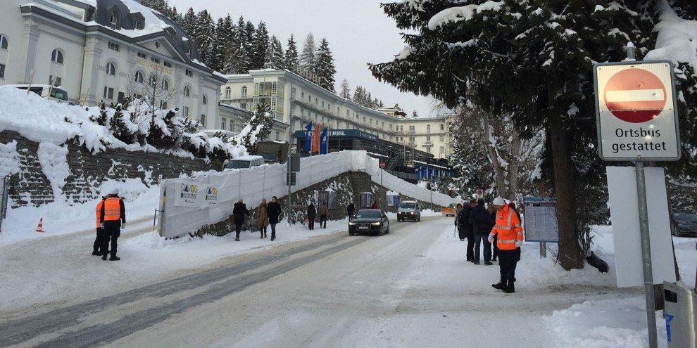 World Economic Forum, Davos. © Amnesty International