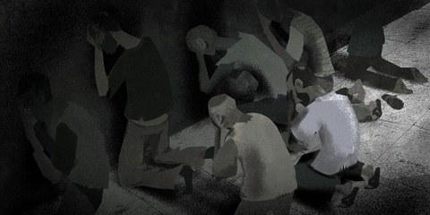 Le rapport sur la prison de Saidnaya a entrainé de nombreuses réactions. © Amnesty International