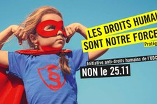 Non à l'initiative anti-droits humains