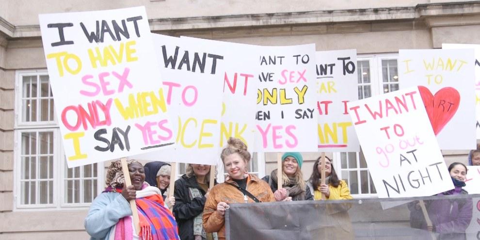Que ce soit en Suisse ou ailleurs dans le monde (comme ici au Danemark), les violences sexuelles à l'encontre des femmes et des filles perdurent. © Ai