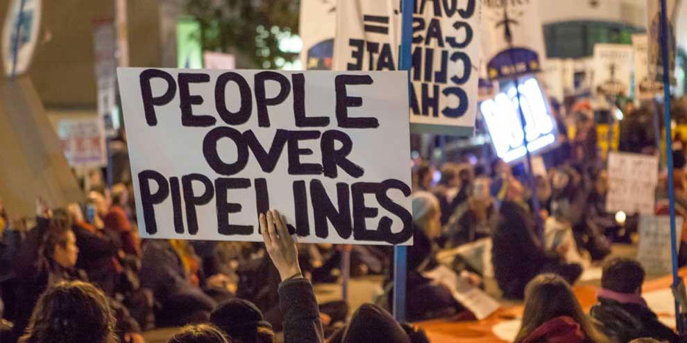 Manifestation contre le Dakota Access Pipeline. © Wikicommons