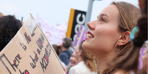 Grève des femmes, Lausanne, 14 juin 2019. ©Amnesty International