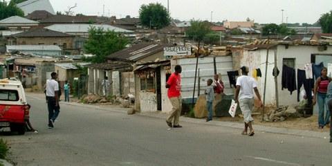 En Afrique du Sud, les commerces appartenant à des étrangers sont depuis des semaines systématiquement pillés et incendiés. ©Droits réservés
