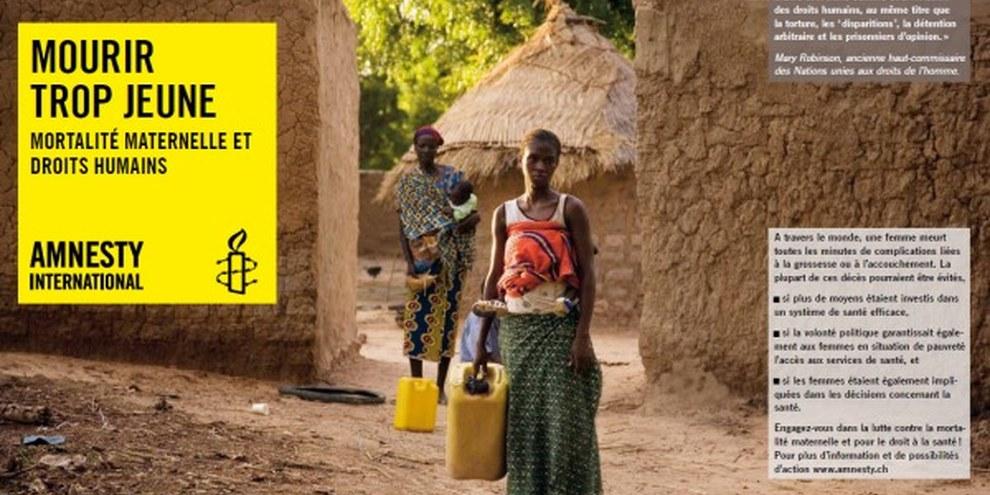 Exposition «Mortalité maternelle et droits humains au Burkina Faso» © Anna Kari