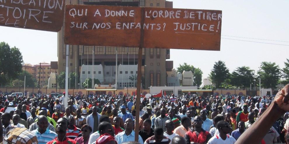 14 personnes ont été tuées à Ouagadougou entre les 16 et 20 septembre 2015, six avaient participé à des manifestations pacifiques contre le coup d'État. © Sesame Pictures Anne Mimault