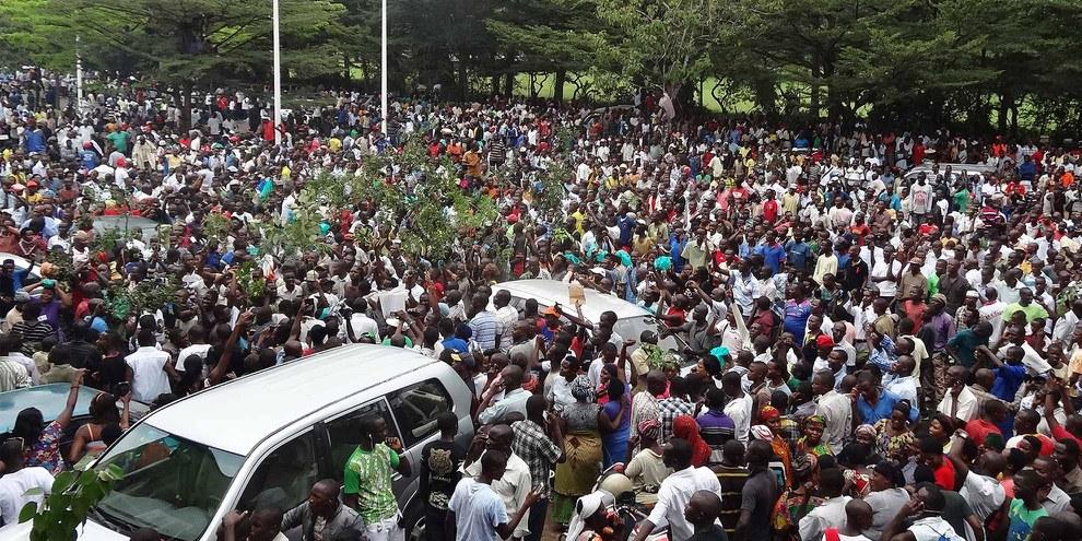 Selon le HCDH, les troubles politiques auraient provoqué la mort d'au moins 277 personnes depuis avril 2015. © Esdras Ndikumana/AFP/Getty Images