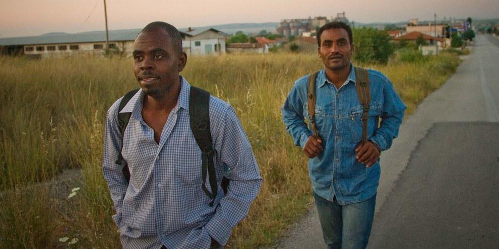 Selon l'agence Frontex, 24 000 Erythréen·ne·s auraient fait le voyage pour rejoindre l'Europe durant les huits premiers mois de 2015. © Bradley Secker / Demotix