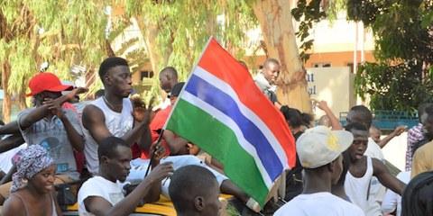 Le rejet par le président Jammeh des résultats de l'élection risquent d'engendrer une instabilité dans le pays. © Steve Cockburn/Amnesty International