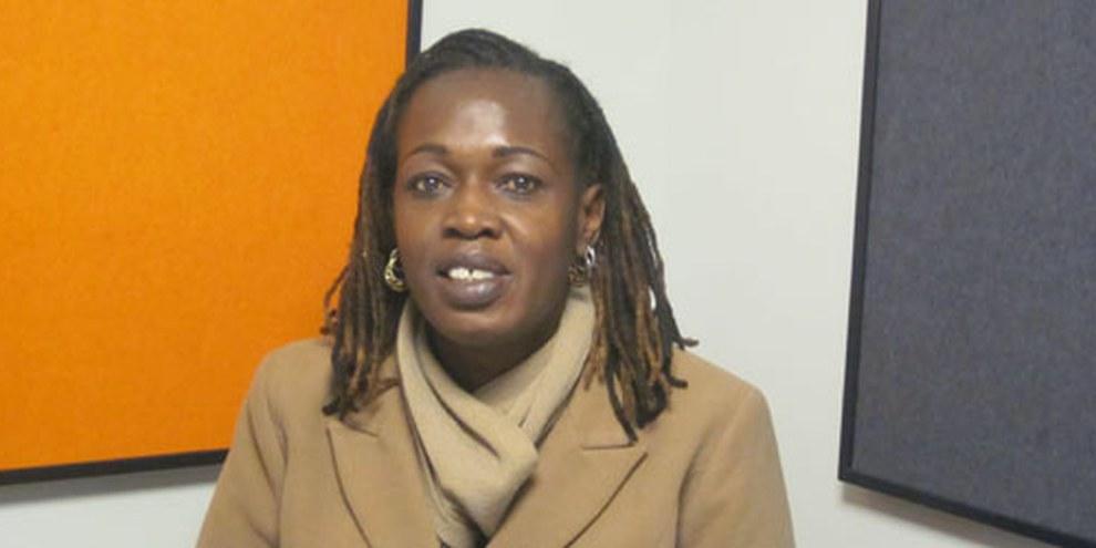 Rhoda Awino, militante LBT au Kenya. © AI