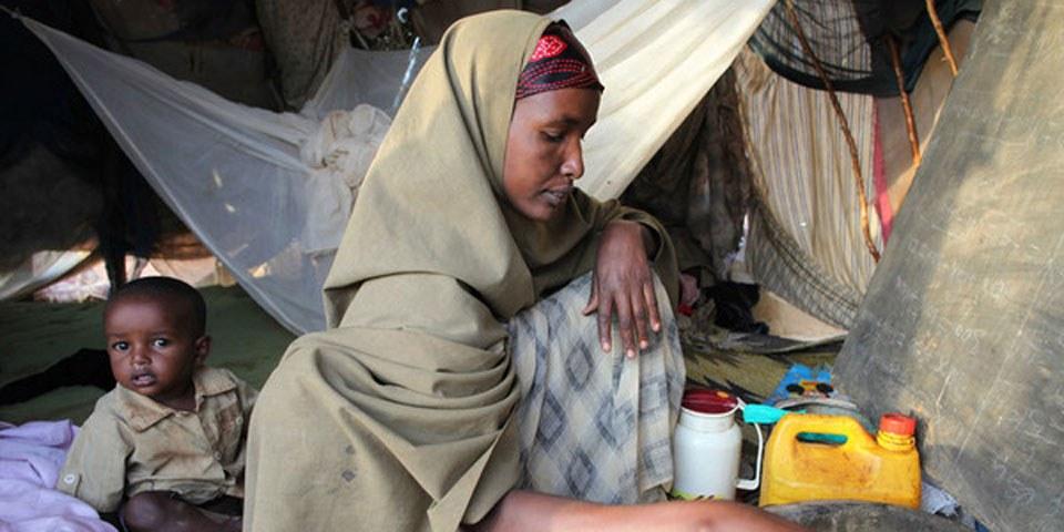 La vie des réfugiés somaliens au Kenya devient insoutenable. © Amnesty International