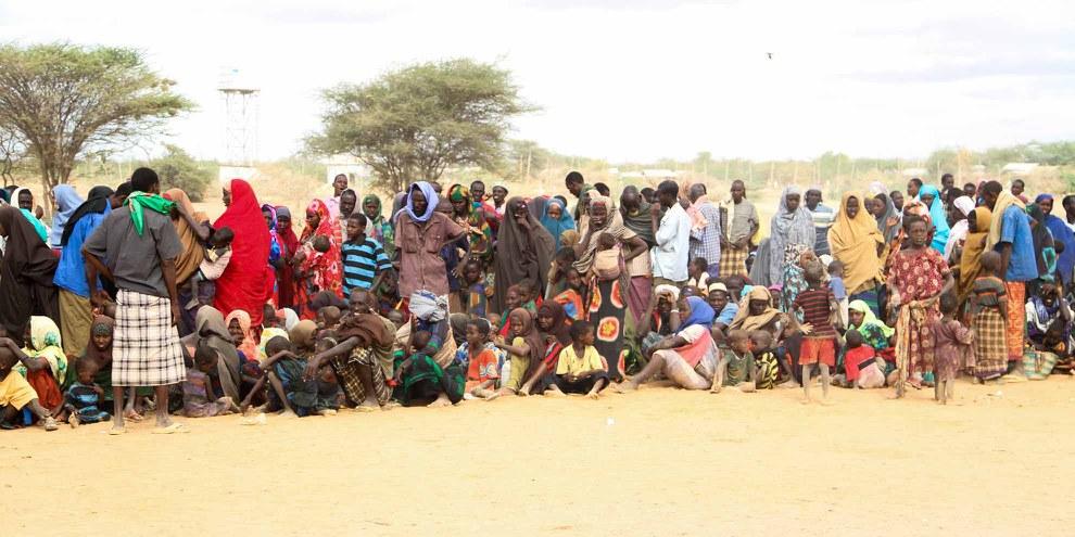 Plus de 250 000 réfugiés somaliens vivent dans le camp de Dadaab, considéré comme le plus grand camp de réfugiés du monde. © Film Aid