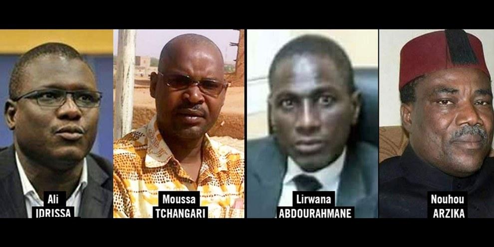 Ali Idrissa, Moussa Tchangari et Nouhou Arzika vont être enfin libérés. © DR