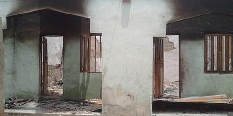 L'attaque contre une école dans le nord du pays a coûté la vie à 29 élèves. © Private