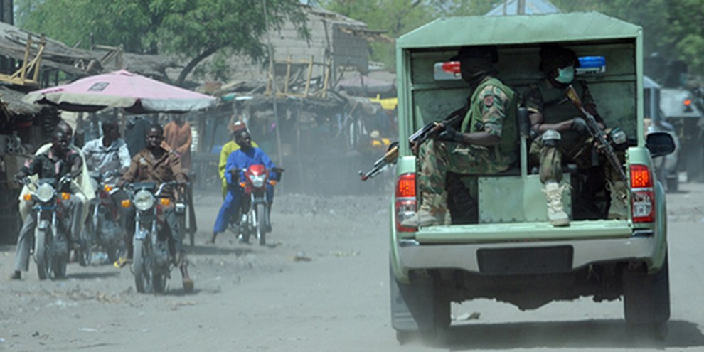 Les civils payent un lourd tribu aux affrontements entre les islamistes de Boko Haram et les autorités dans le nord-est du pays. © PIUS UTOMI EKPEI/AFP/Getty Images