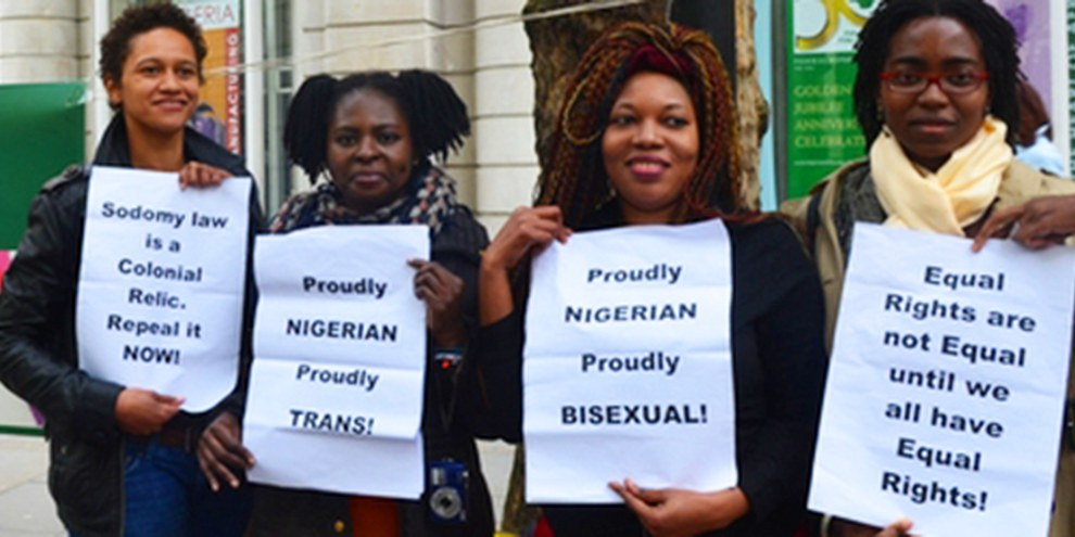 La police nigériane dresse des listes de personnes suspectées d'appartenir à la communauté LGBTI. © See Li/Demotix/Corbis