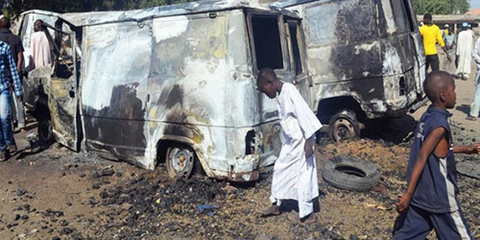 En février 2014, des attaques par des hommes armés ont été menées contre les civils au nord-est du pays. © AFP/Getty Images